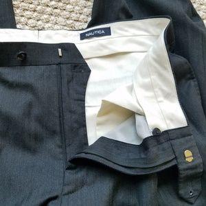 Nautica Suits & Blazers - Nautica Charcoal Gray Wool 2 Piece Suit